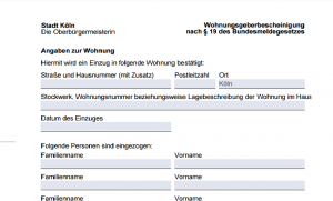 Registrarse en Alemania