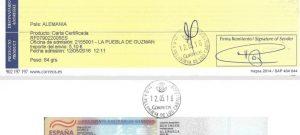 Resguardo Correos Consulado HH2016