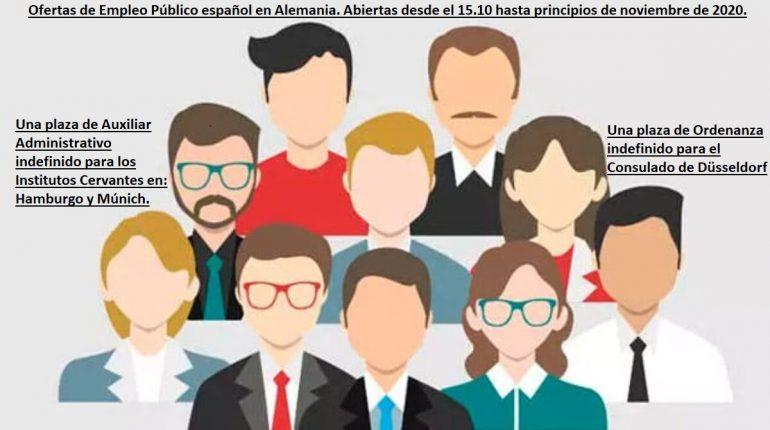 Oferta Empleo Publico Alemania 2020